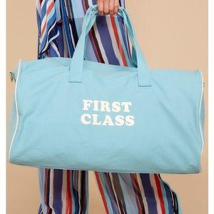 New ban.do First Class Blue Getaway Duffle Bag